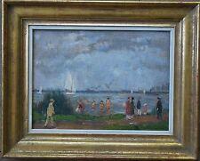 Linde-Walther Heinrich *1868 Lübeck Berlin Paris +1939 Travemünde Sommer am Meer