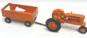 RARE 1950 PRODUCT MINIATURES ALLIS CHALMERS WD TRACTOR & BARGE WAGON PARTS