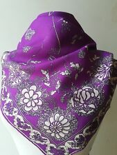 Emilio Pucci foulard scarf seta silk  vintage