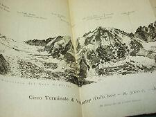 GUIDA DELLE ALPI OCCIDENTALI BOBBA VACCARONE CAI 1896 TORINO VALLE DAOSTA RHEME