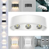 Nordic LED Exterior Wall Light Up Down Bothway Hotel Outdoor Porch Lighting Lamp