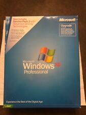 Microsoft Windows XP Professional sp2 upgrade in original packaging