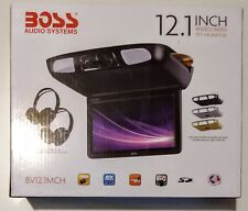 BOSS AUDIO SYSTEMS - 12.1 in. Widescreen TFT Monitor - Black, Grey, Tan