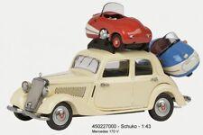 Schuco 450227000- Mercedes-Benz 170V Con 2x Brütsch Mopetta NUOVO