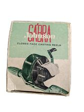 VINTAGE JOHNSON SABRA MODEL 130A 1960'S FISHING REEL CLOSED FACE
