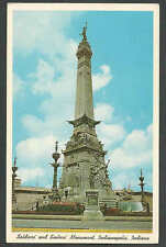 PPC #G227* GOOD POSTCARD SAILORS & SOLDIERS MONUMENT INDIANAPOLIS IN POSTED