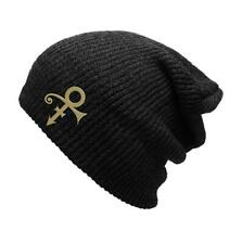 PRINCE LOVESYMBOL 100% OFFICIALLY LICENSED SLOUCH BEANIE HAT
