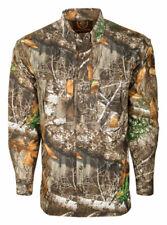 Drake  Dura-Lite  M  Long Sleeve  Men's  Collared  Realtree Edge  Shirt