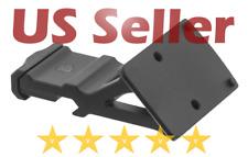 UTG Leapers Tactical Super Slim RMR 45 Degree Angle Mount Black Aluminum