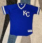 Vintage 90s Russell Athletic MLB Kansas City Royals Baseball Jersey Size: 44