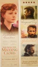 FAR FROM THE MADDING CROWD FILM BOOKMARKS X 2 CARY MULLIGAN MATTHIAS SCHOENAERTS