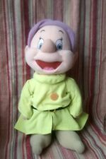 """Pre-Owned Disney's 'Dopey' Dwarf (13 """") Self- Standing Soft Toy (Good Condition)"""