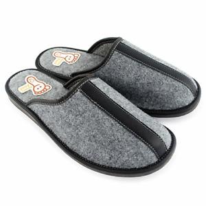 Men`s Handmade 100% Felt slippers,mules, sandals 7-11,5, 41-46 (Hausschuhe)