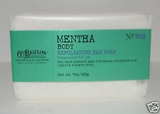 BATH BODY WORKS CO BIGELOW MENTHA EXFOLIATING BAR SOAP PEPPERMINT OIL MINT 1413