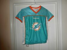 Miami Dolphins Nfl Reversible Flag Football Jersey Youth Size Lg 14-16 Play 60