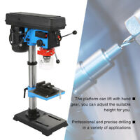 9 Speed Pillar Drill 16mm Chuck 550w Motor Press Bench Top Mounted Drilling