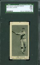 1916 M101-4 # 93- Joe Judge - Miscut- Washington Senators - SGC 20