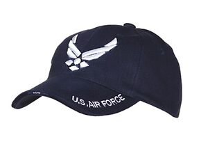 US Army Air Force USAAF Baseball Cap Air Force Pilots Insignia Embroidered