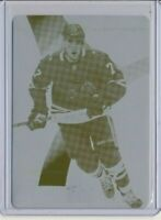 2019-20 SP Game Used Rookie Printing Plate 193 Kirby Dach 1/1 Chicago Blackhawks