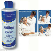 No Rinse Shampoo 1-8 oz.