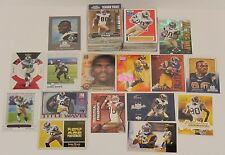 Huge 87 Card Lot Isaac Bruce #d Inserts Die-Cut Chrome ++ HIGH BV over $100