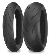 Shinko 011 Verge 200/55-17 & 140/75-17  Radial Tyre Pair Harley Davidson Fat Boy
