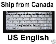 Toshiba Mini NB100 NB105 NB 100 NB 105 Keyboard - White - US English