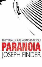 Paranoia by Joseph Finder (Paperback, 2005)