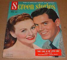 7/1951 Screen Stories Magazine    Jeanne Crain  Dale Robertson  Jeffrey Hunter