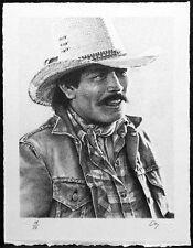 Derryl Day Jesse Signed Art Lithograph cowboy Art Artwork SUBMIT AN OFFER