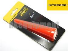 NiteCore NTW25 25.4mm Traffic Wand Red Cone Tip EA1 EA2 EC1 EC2 MH1A Flashlight