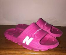 NEW BALANCE Casual  BEACH SANDALS Flip Flops Water Lake PINK SHOES Girls SIZE 2