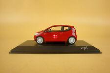 1/43 Volkswagen VW UP red color diecast model