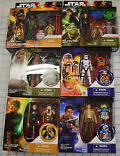 "Lot 6 Anakin Luke Skywalker Yoda Revenge of the Sith 3.75"" Figures Flametrooper"