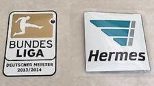 Set Of 2013-2014 Bundesliga Deutscher Meister + Hermes Patch Badge Flicken Toppa
