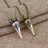 Necklace Magic Harry Potter Felix Felicis Potion Liquid Luck Vial Bottle Pendant