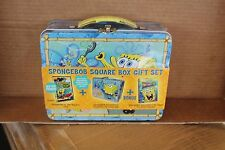 SpongeBob Square Box Gift Set, New! DVD, Tin Lunch Box and PC Game