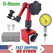 0 08mm Flexible Magnetic Metal Base Holder Stand With Dial Test Indicator Usa