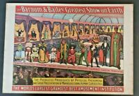 1960 Barnum & Bailey Circus World Museum Old Poster Z1