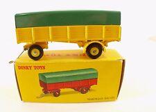 Dinky Toys F 70 remorque bâchée rarement sortie en boîte