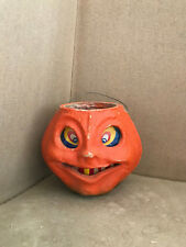 Antique Paper Mache German Jack O' Lantern