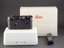 Leica M6 schwarz Partner 10404 + MP Sucher Umbau FOTO-GÖRLITZ Ankauf+Verkauf