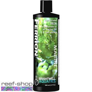 Brightwell Aquatics Ferrion 500mL Concentrated Liquid Iron Aquarium Supplement
