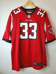 Nike NFL Football Atlanta Falcons Michael Turner #33 Jersey Large Red