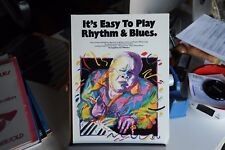 IT'S EASY TO PLAY - RHYTHM & BLUES - SPARTITI MUSICALI