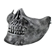 10Costume Halloween Party Airsoft Skull Mask Motorcycle Skeleton Half Face Masks