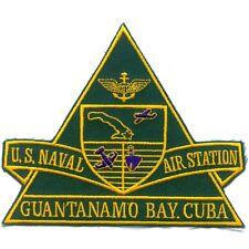 US NAVAL AIR STATION GUANTANAMO BAY CUBA NAS NAVY MILITARY PATCH