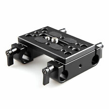 SmallRig Cheese Baseplate with Dual 15mm Rod Clamp for Camera Mounting - 1775