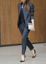 Custom Made Women Ladies Formal Business Office Tuxedos Jacket+Pants New Suits