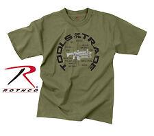 Rothco 60540 Vintage 'Tools Of The Trade' T-Shirt - Olive Drab